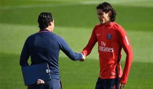 Unai Emery ha hablado con Cavani y Neymar