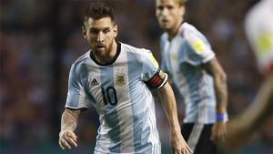 Messi fue el mejor de Argentina ante Perú