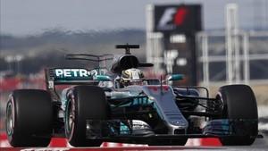 Hamilton volvió a refrendar que es el más rápido de la parrilla a una vuelta