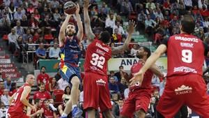 El Andorra tropezó en la pista del Tecnyconta Zaragoza
