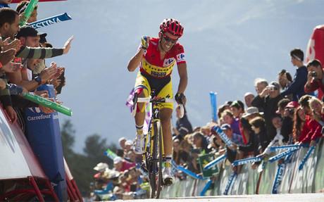 Contador fue el m�s fuerte en Anclares