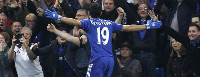 Diego Costa hace m�s l�der al Chelsea