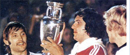 V EUROCOPA (YUGOSLAVIA 1976) - Campeón: CHECOSLOVAQUIA