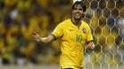 Kak�, con la selecci�n brasile�a en un partido de clasificaci�n para el Mundial de Rusia