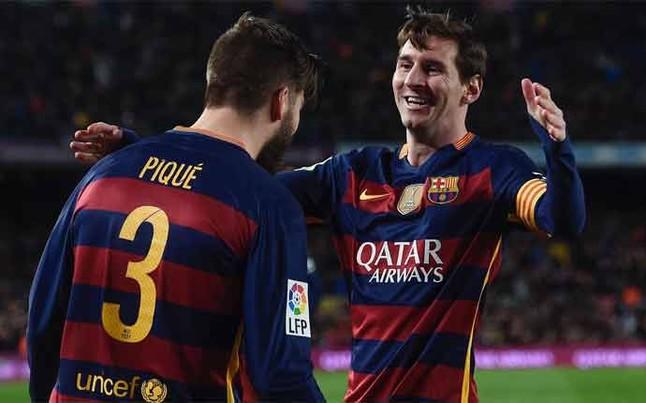 Alineaciones del Rayo Vallecano-FC Barcelona de la jornada 27 de la Liga BBVA 2015/2016