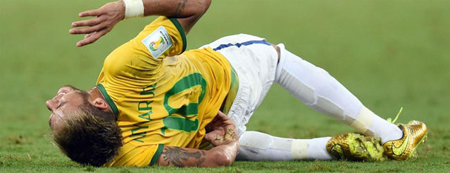 Neymar deja el mundial 2014 por lesion
