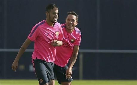 Neymar, siempre muy activo en las redes
