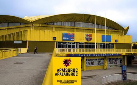 El Palau Blaugrana se vestir� de amarillo en favor de la consulta del 9-N