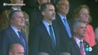 La mujer de rosa vuelve al palco en la final de la Copa del Rey