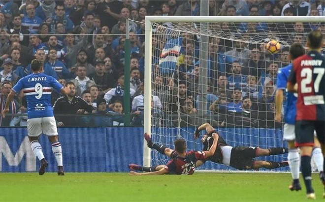 La Sampdoria acab� ganando 2-1