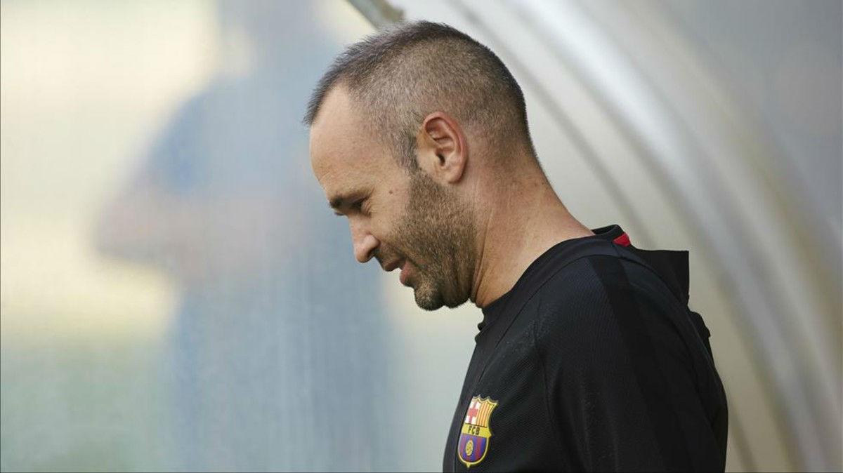 Valverde habló sobre Iniesta