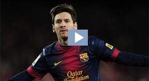 ¿Cuál ha sido el mejor gol de Leo Messi en 2012?