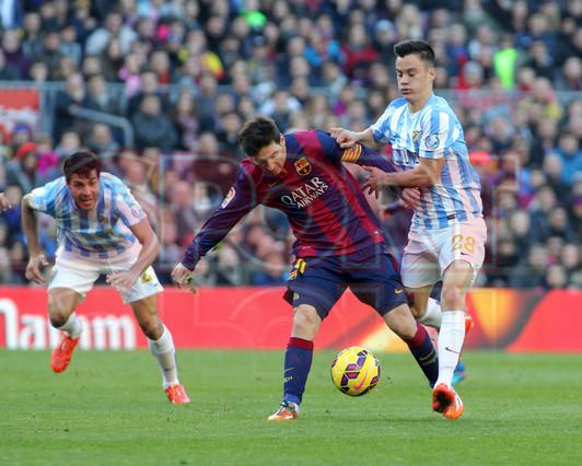 صور : مباراة برشلونة - ملقا  0-1 ( 21-02-2015 )  1424541191959