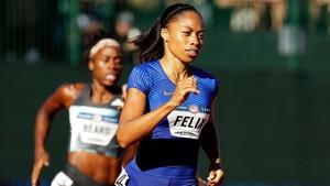Allyson Felix quiere competir, como mínimo, hasta las próximos Juegos Olímpicos en Tokio