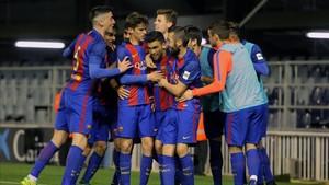 El Barça B busca el triunfo ante el Ebro