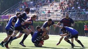 El Barça se impuso al Sant Cugat en La Foixarda