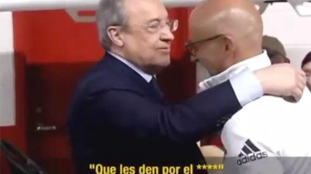 La broma entre Florentino Pérez y Pintus