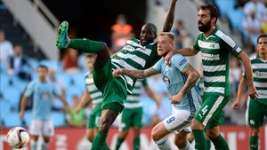 El Panathinaikos se midió la pasada temporada al Celta en la Europa League