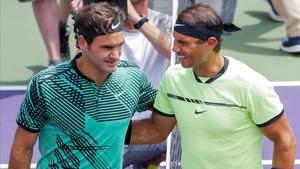 Federer o Nadal saldrán de Cincinnati en el número uno