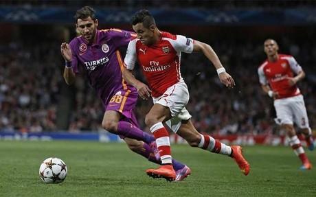 Alexis contribuy� a la goleada del Arsenal