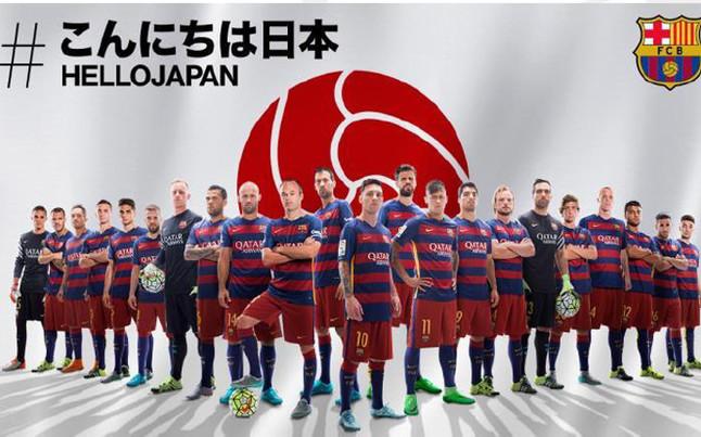 FC Barcelona lanza la campaña Hello Japan de cara al Mundial de Clubes