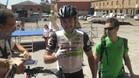Haas, feliz tras ganar la cuarta etapa de la Vuelta a Burgos