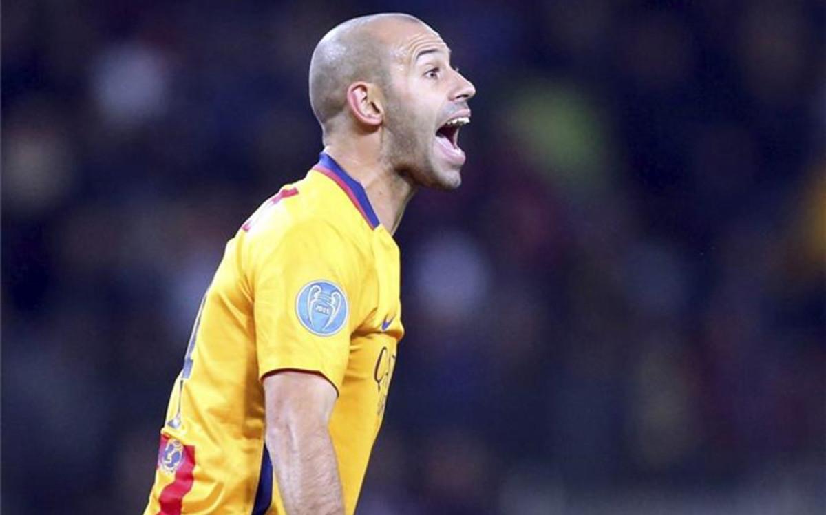 """Mascherano: """"Marcar un gol no me cambia la vida"""""""