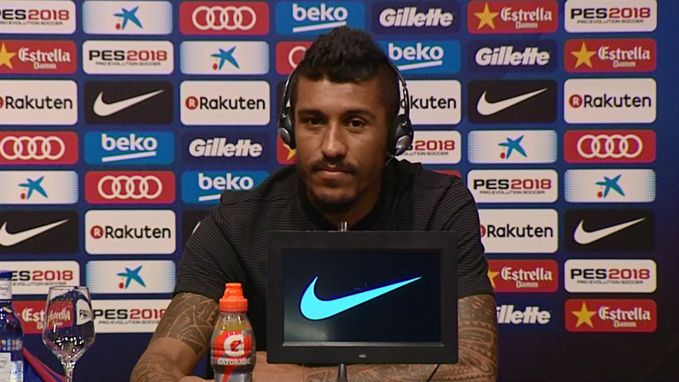 """Paulinho: """"Estoy seguro de que encajaré en el Barça"""""""