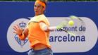 Rafa Nadal tuvo un cómodo debut en el Barcelona Open Banc Sabadell
