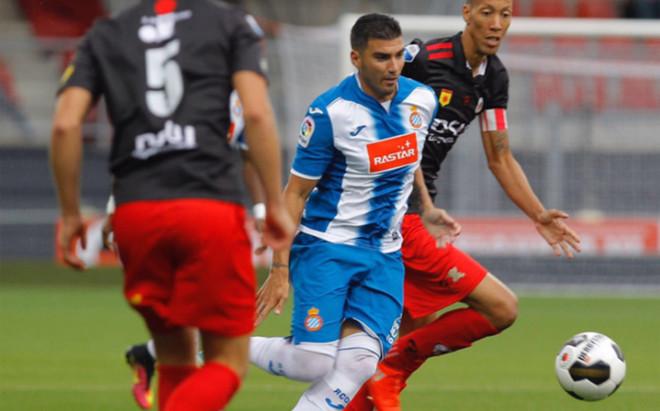 Reyes particip� en los tres goles del equipo blanquiazul