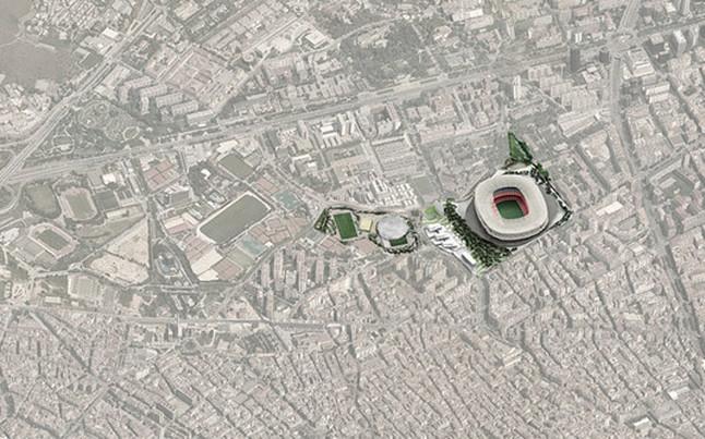 Las reformas del Camp Nou 1390247486569