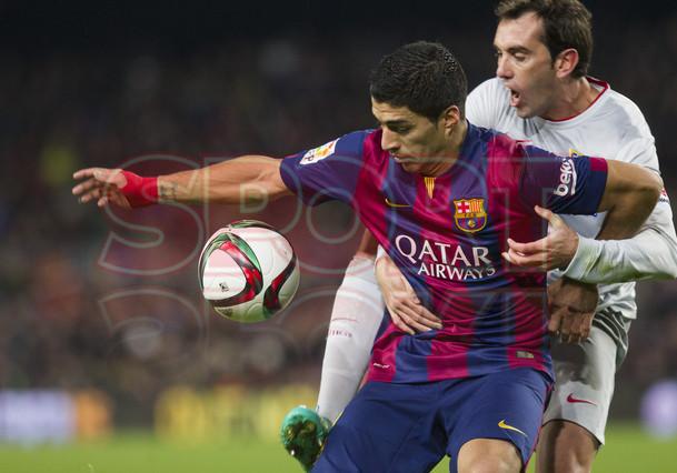 صور : مباراة برشلونة - أتليتيكو مدريد 1-0 ( 20-01-2015 )  1421883638369