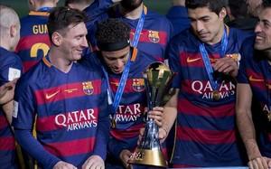 Messi. Neymar y Suárez lideran el top tres de los mejores jugadores del mundo