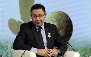 Bartomeu ha participado en la reunión de la ECA