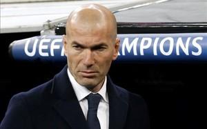 Zidane está muy decepcionado con sus jugadores