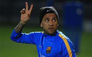 Dani Alves, jugador del FC Barcelona