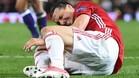Ibrahimovic se lesionó de gravedad en la Europa League ante el Anderlecht
