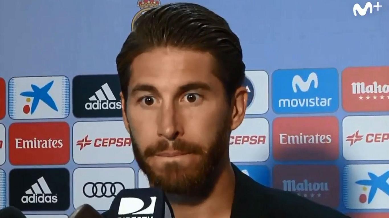 Sergio Ramos: Nosotros no vamos a hablar de los árbitros