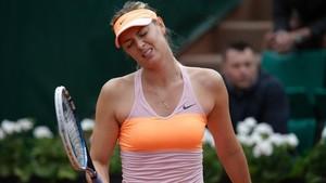 Roland Garros le ha cerrado las puertas a Maria Sharapova