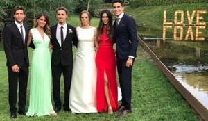 Marc Muniesa se ha casado con Sara Campeny