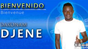 Djené ya es nuevo jugador del Getafe