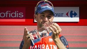 Nibali pasó del sufrimiento al éxtasis en Andorra La Vella