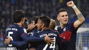 Tolisso certificó el triunfo del Bayern
