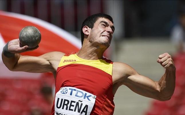 Jorge Ure�a, victoria en Reims y r�cord de Espa�a de heptatlon