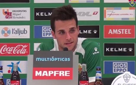 �lvaro Gim�nez, feliz en el primer equipo del Elche