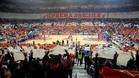 El Kombank Arena de Belgrado tiene un aforo de 18.400 espectadores