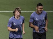 Casemiro y Modric son baja en el Real Madrid