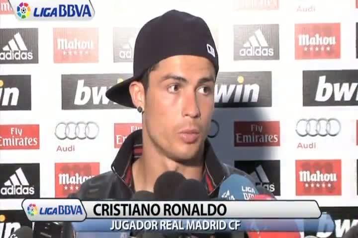 """Cristiano Ronaldo: """"El �rbitro estuvo un poco blando"""""""
