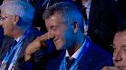 El gesto de Gil Mar�n al saber que el Atleti se enfrentar�a al Bayern