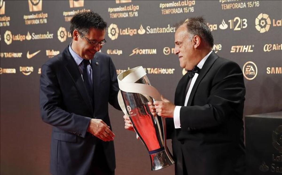 Entrega de los premios de la Liga en directo